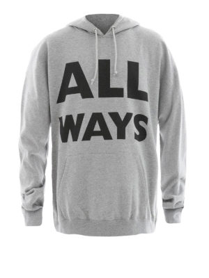 Valentino: Sweatshirts & Sweaters - All Ways cotton hoodie