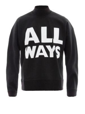 Valentino: Sweatshirts & Sweaters - All Ways crop sweatshirt