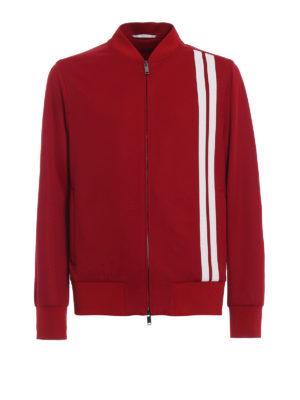 Valentino: Sweatshirts & Sweaters - Full zip acrylic sweater