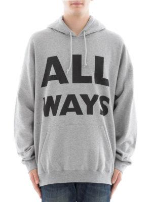 Valentino: Sweatshirts & Sweaters online - All Ways cotton hoodie
