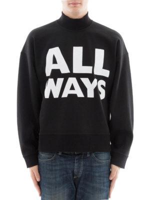 Valentino: Sweatshirts & Sweaters online - All Ways crop sweatshirt