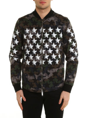 Valentino: Sweatshirts & Sweaters online - Bomber-inspired jersey sweatshirt