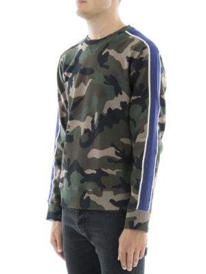 Valentino: Sweatshirts & Sweaters online - Camu cotton sweatshirt
