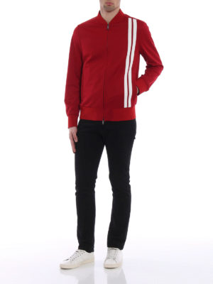 Valentino: Sweatshirts & Sweaters online - Full zip acrylic sweater