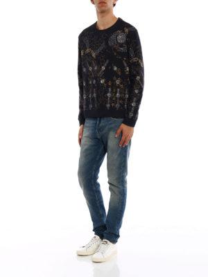 Valentino: Sweatshirts & Sweaters online - Lunar Punk print sweatshirt