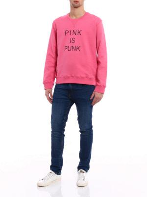 Valentino: Sweatshirts & Sweaters online - Pink is punk sweatshirt