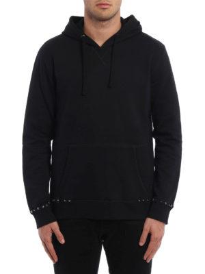 Valentino: Sweatshirts & Sweaters online - Rockstud cotton hoodie