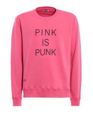 Valentino: Sweatshirts & Sweaters - Pink is punk sweatshirt