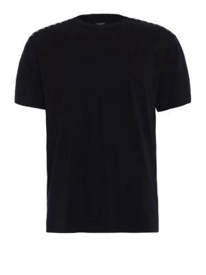 Valentino: t-shirts - 09. Rockstud Untitled black T-shirt
