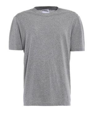 Valentino: t-shirts - 09. Rockstud Untitled grey T-shirt