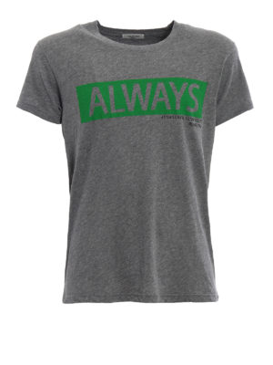 Valentino: t-shirts - Always print cotton T-shirt