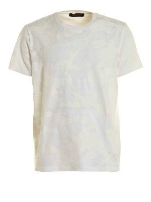 Valentino: t-shirts - Camouflage print T-shirt