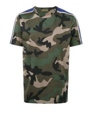 Valentino: t-shirts - Camouflage T-shirt