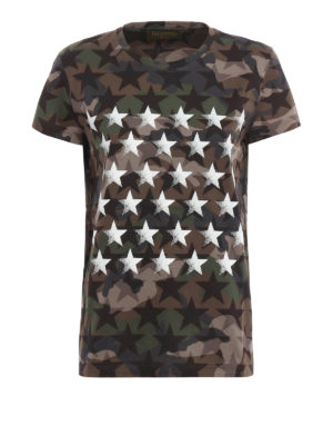 Valentino: t-shirts - Camustars Mariposa T-shirt