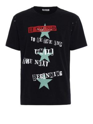 Valentino: t-shirts - Jamie Reid cotton Tee