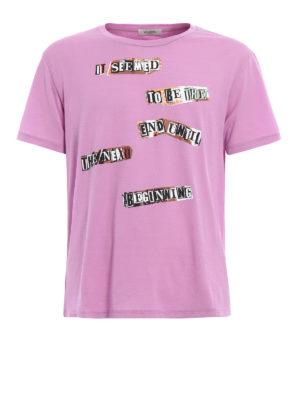 Valentino: t-shirts - Jamie Reid printed T-shirt