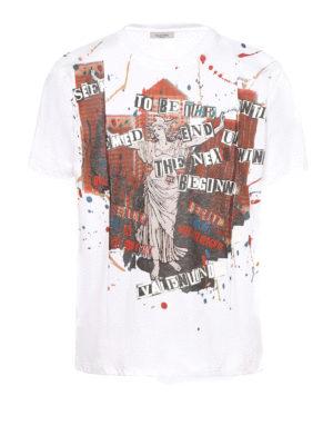 Valentino: t-shirts - Jamie Reid printed Tee