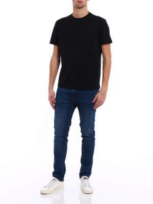 Valentino: t-shirts online - 09. Rockstud Untitled black T-shirt