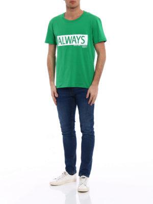 Valentino: t-shirts online - Always print jersey T-shirt