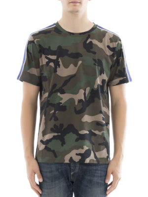 Valentino: t-shirts online - Camouflage T-shirt