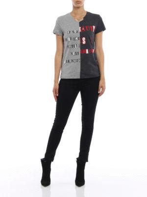 Valentino: t-shirts online - Jamie Reid cotton T-shirt