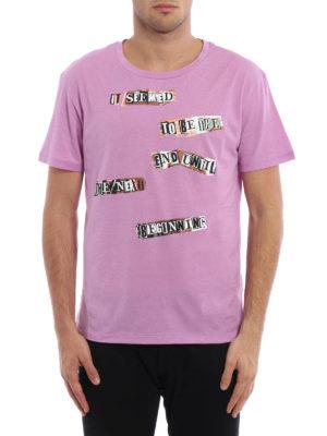 Valentino: t-shirts online - Jamie Reid printed T-shirt