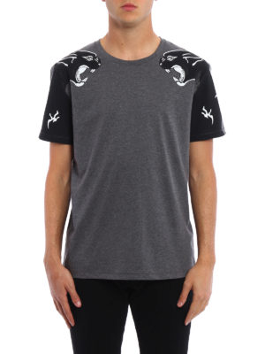 Valentino: t-shirts online - Panther print T-shirt