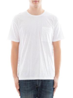 Valentino: t-shirts online - Rockstud white cotton Tee