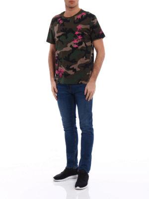 Valentino: t-shirts online - Zandra Rhodes cotton T-shirt