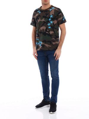 Valentino: t-shirts online - Zandra Rhodes print cotton T-shirt