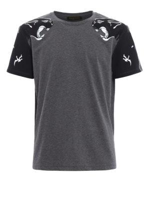 Valentino: t-shirts - Panther print T-shirt