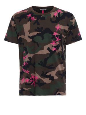 Valentino: t-shirts - Zandra Rhodes cotton T-shirt