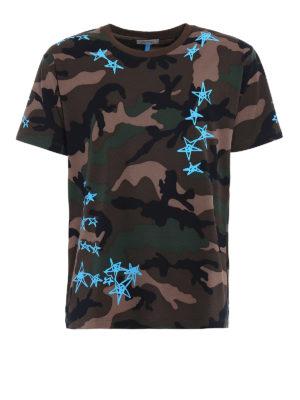 Valentino: t-shirts - Zandra Rhodes print cotton T-shirt