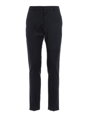 Valentino: Tailored & Formal trousers - Contrasting side band trousers