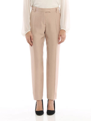 Valentino: Tailored & Formal trousers online - Silk formal trousers