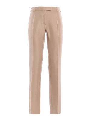 Valentino: Tailored & Formal trousers - Silk formal trousers