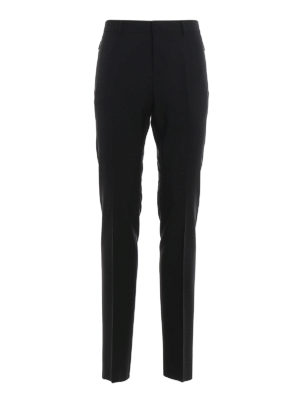VALENTINO: Tailored & Formal trousers - Wool and mohair trousers