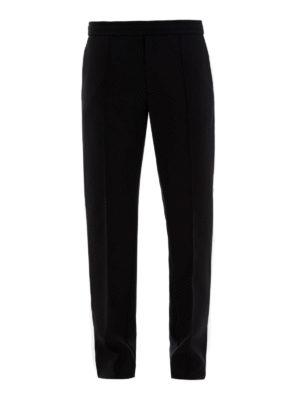 VALENTINO: pantaloni sport - Pantaloni con bande a contrasto