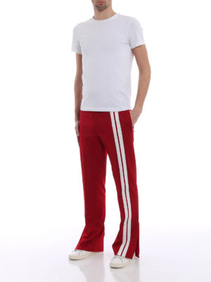 Valentino: tracksuit bottoms online - Side bands tracksuit bottoms