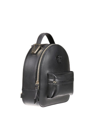 Versace: backpacks online - Palazzo napa leather backpack