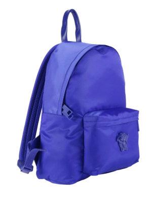 Versace: backpacks online - Palazzo nylon backpack