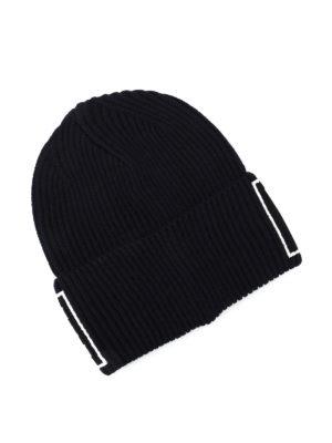 Versace: beanies online - Versace knitted wool beanie