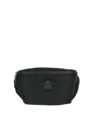 Versace: belt bags - Medusa Head nylon belt bag