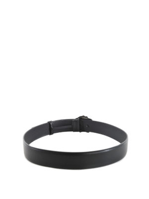 Versace: belts online - Palazzo leather belt
