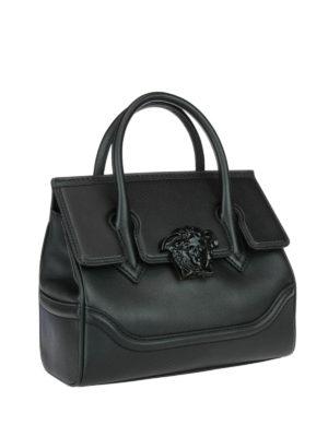 Versace: bowling bags online - Palazzo Empire black bag