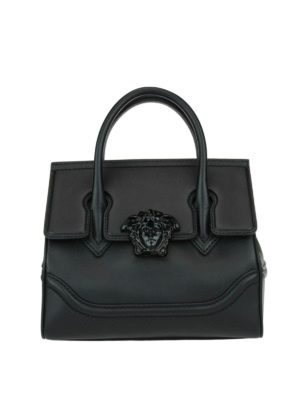 Versace: bowling bags - Palazzo Empire black bag