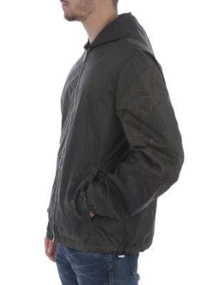 Versace: casual jackets online - Reversibile nylon jacket