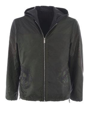 Versace: casual jackets - Reversibile nylon jacket