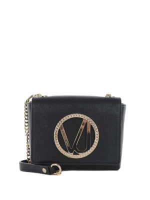 Versace: clutches - Versace Jeans faux leather clutch