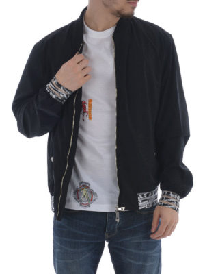 Versace Collection: casual jackets online - Nylon jacket